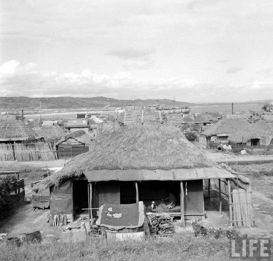 Typical Post-War Okinawan Dwelling