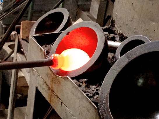 Keeping the Molten Glass Formed