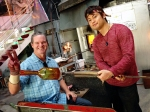 jodys-birthday-2016-glass-blowing-kevin-with-his-finished-bottle