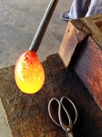 jodys-birthday-2016-glass-blowing-molten-glass-to-become-a-glass