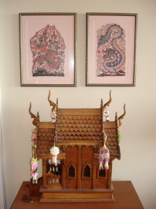 My Thai Spirit House, in Pensacola ~2006
