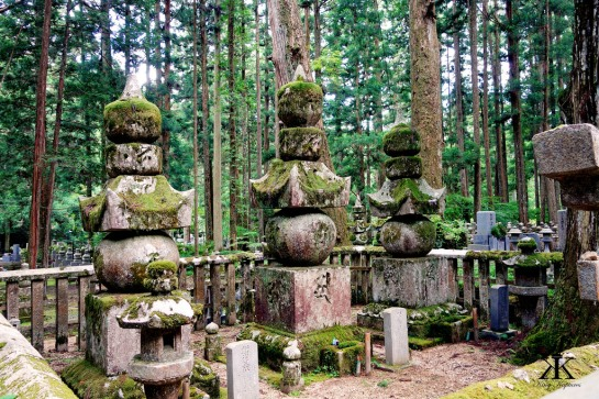 Tombstones and Rock Memorials at Okunoin