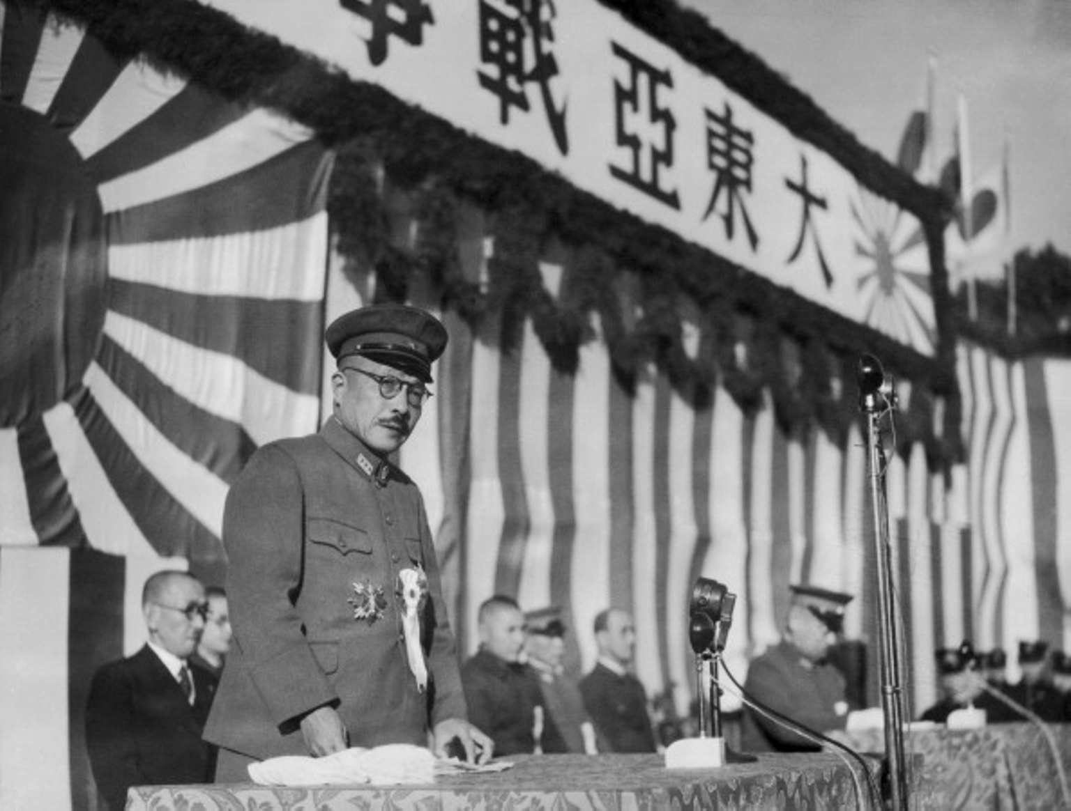How did Hideki Tojo gain power?