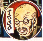 Tojo as depicted in Marvel Comics of the time