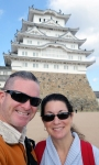 kobe-2016-himeji-jo-castle-couples-selfie-with-the-white-castle-in-the-sky