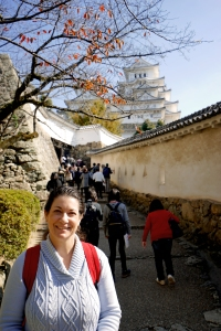 kobe-2016-himeji-jo-castle-jody-on-the-way-to-visit-the-castle