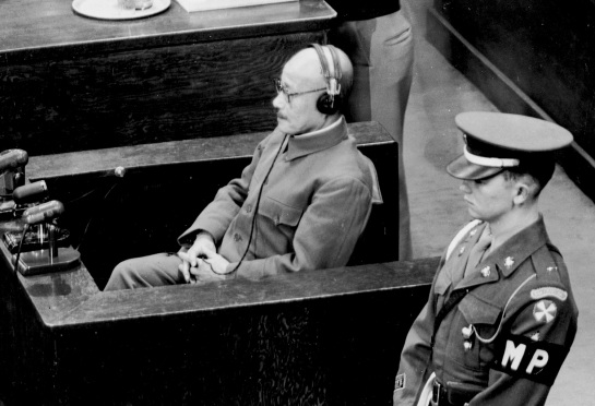 Tojo on Trial as a War Criminal