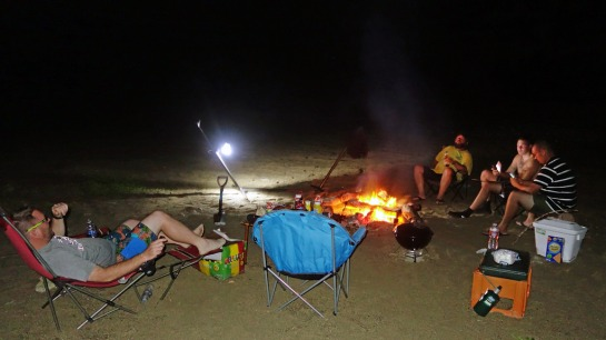Campfire, Smores, Various Adult Beverages, and Tall Tales!